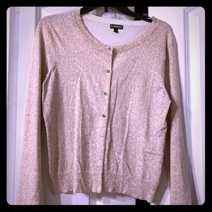 Express Cardigan with Bling Buttons